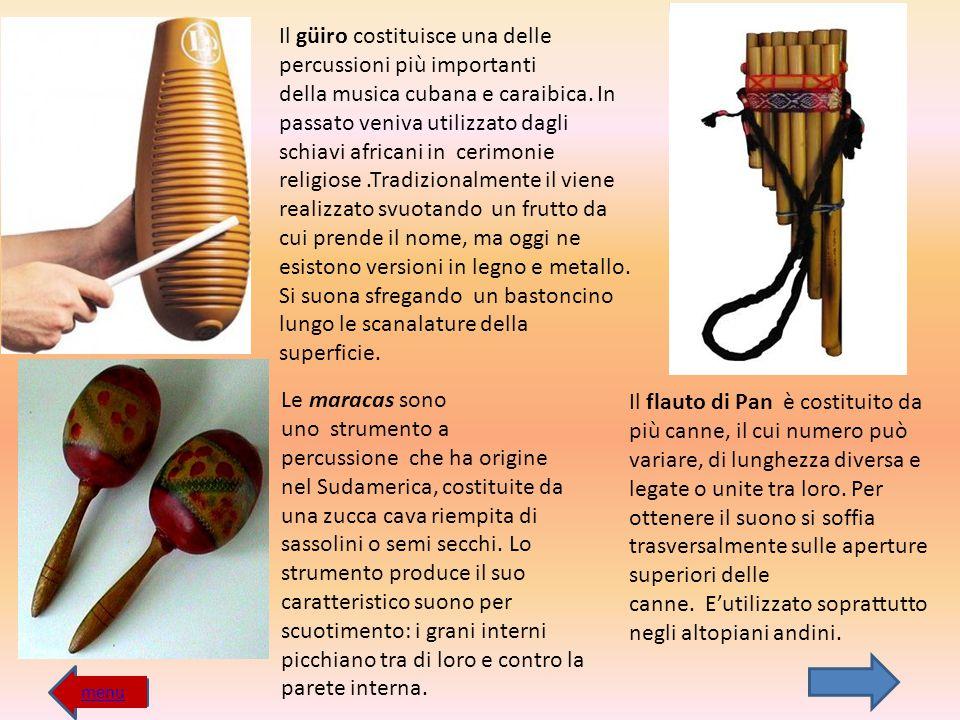 Il flauto di Pan è costituito da più canne, il cui numero può variare, di lunghezza diversa e legate o unite tra loro. Per ottenere il suono si soffia