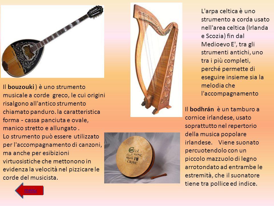 Il bouzouki ) è uno strumento musicale a corde greco, le cui origini risalgono all'antico strumento chiamato panduro. la caratteristica forma - cassa