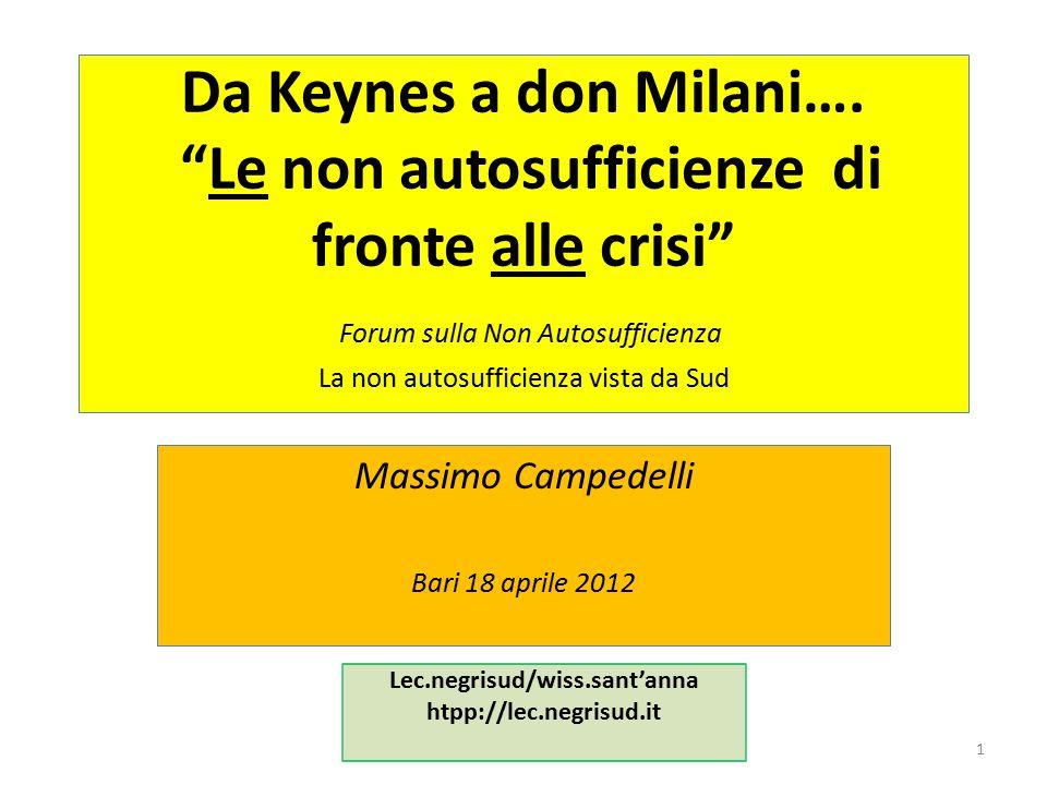 Riconoscere le crisi … per non subire la crisi 12 – le n.a.