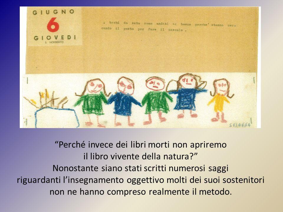 """""""Perché invece dei libri morti non apriremo il libro vivente della natura?"""" Nonostante siano stati scritti numerosi saggi riguardanti l'insegnamento o"""