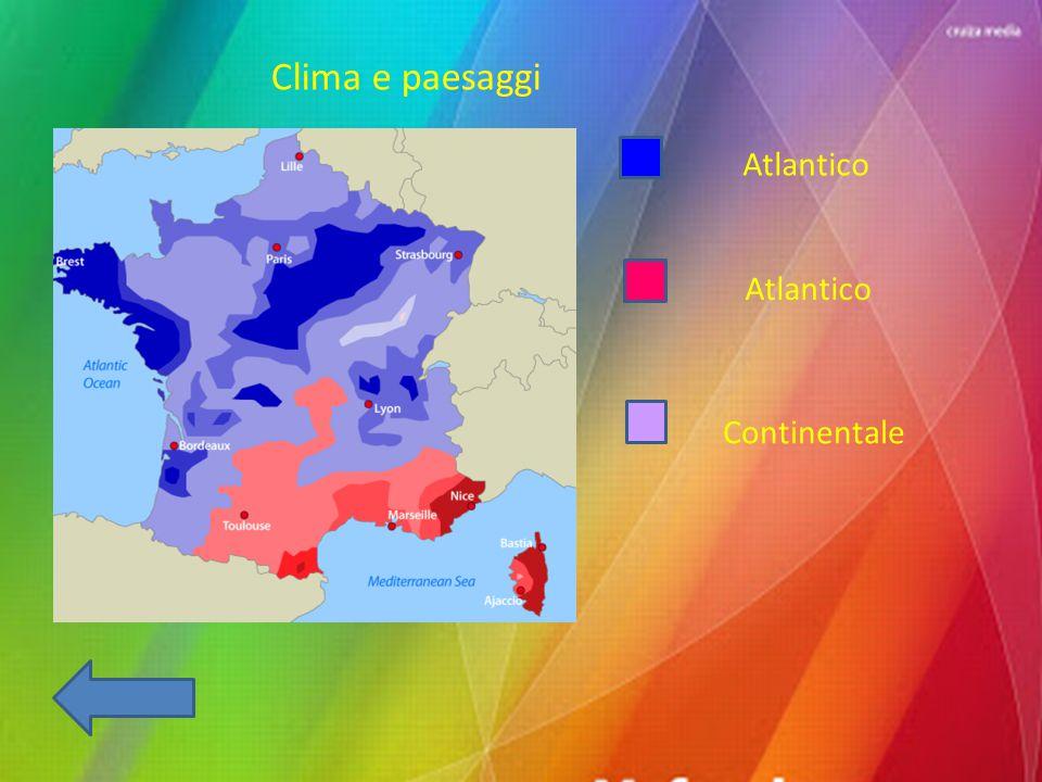 Clima e paesaggi Atlantico Continentale