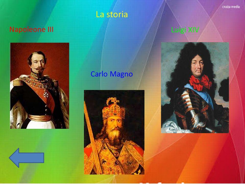 La storia Napoleone III Carlo Magno Luigi XIV