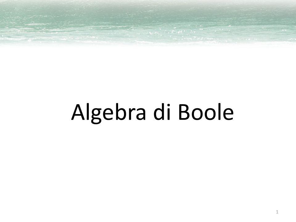 Algebra di Boole 1