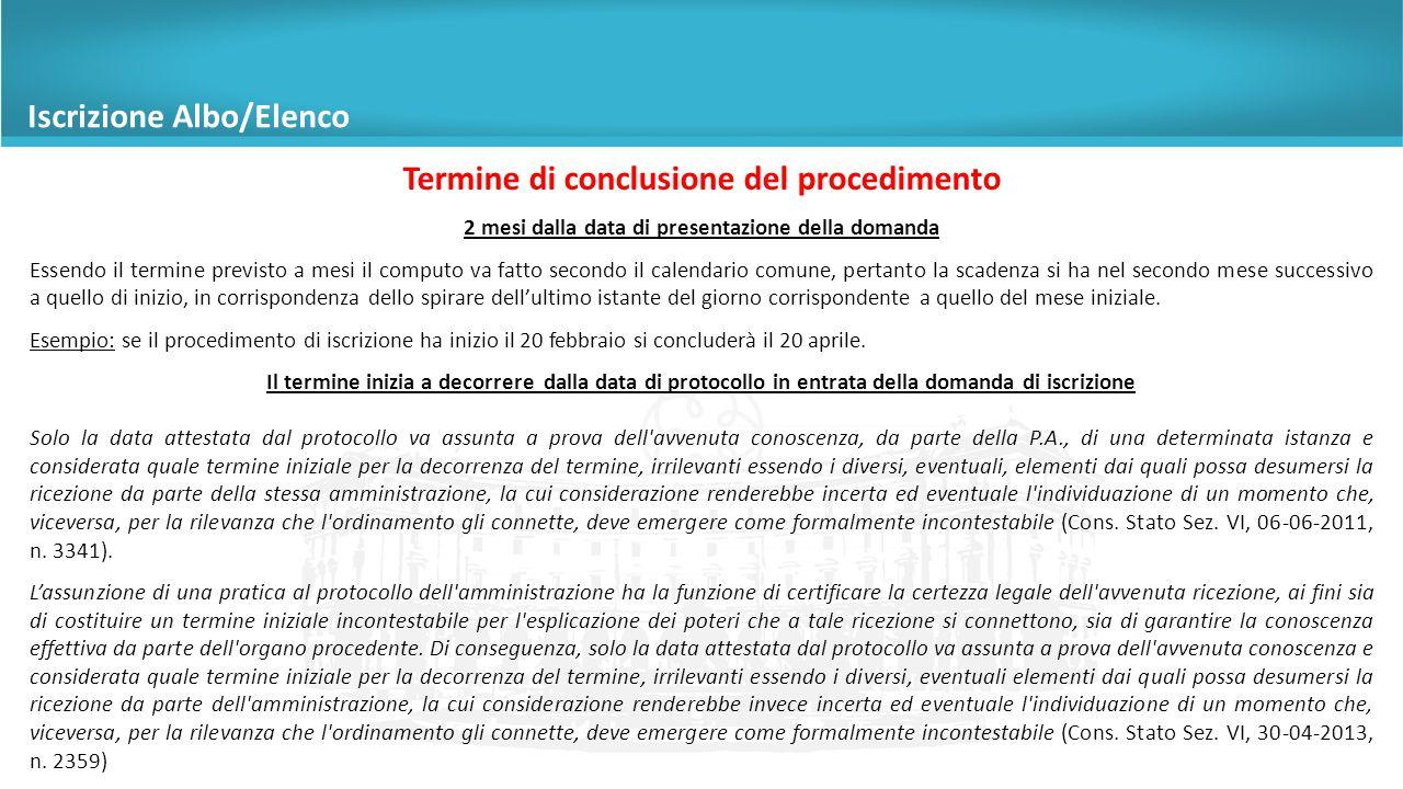 Diversi da incompatibilità o alla condotta Non è necessaria l'audizione del richiedente Al richiedente viene assegnato un termine di 10 gg per produrre documenti e osservazioni (art.