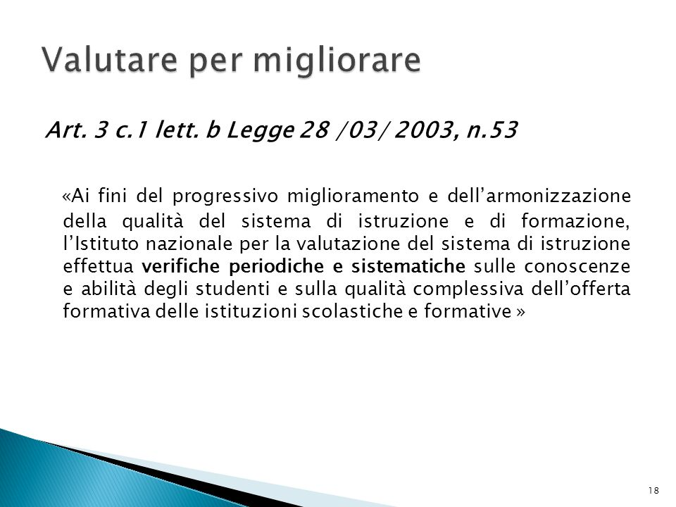 Art. 3 c.1 lett.