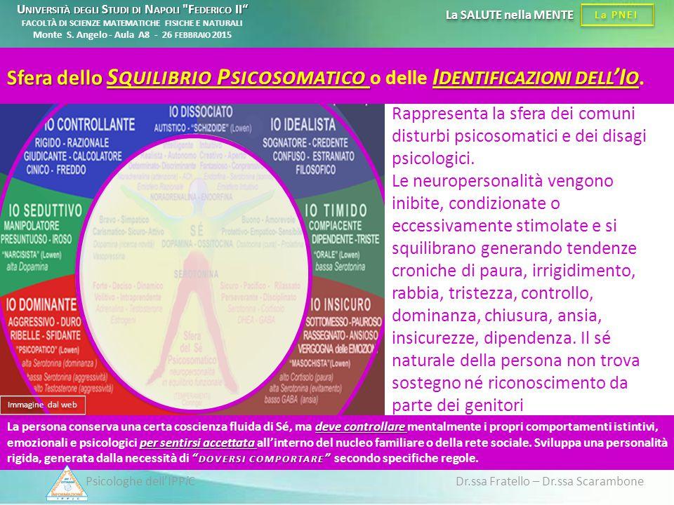 Psicologhe dell'IPPiC Dr.ssa Fratello – Dr.ssa Scarambone La PNEI La SALUTE nella MENTE Rappresenta la sfera dei comuni disturbi psicosomatici e dei d