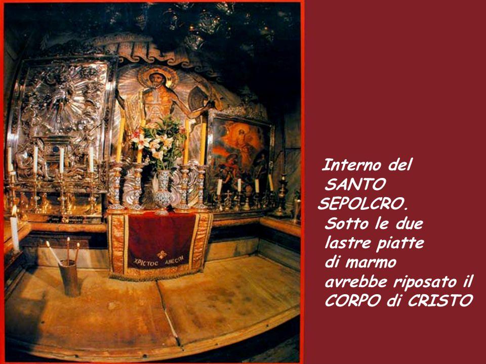 Luogo tradizionale dove si crede fosse la Croce de Gesù.