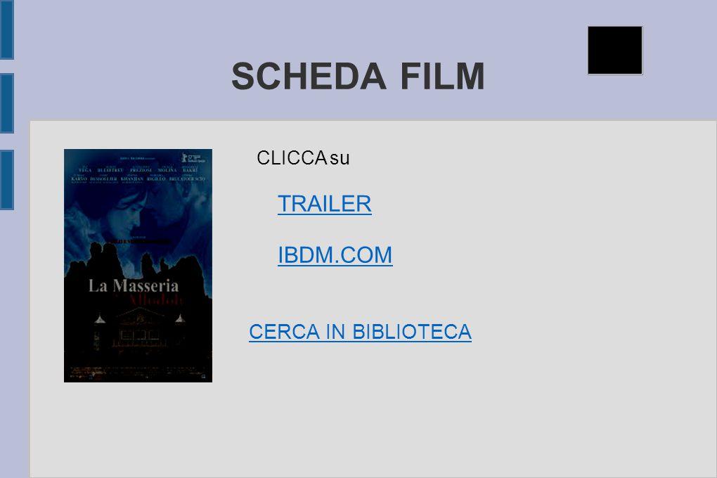 SCHEDA FILM TRAILER IBDM.COM CERCA IN BIBLIOTECA CLICCA su