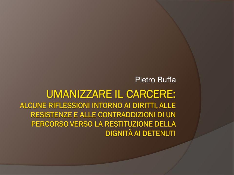 Dignità pena e costituzione (5)  Art.