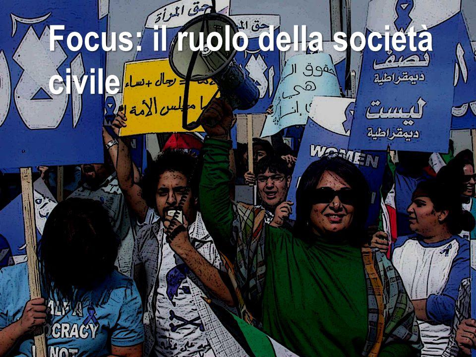 Focus: il ruolo della società civile