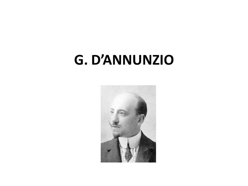 G. D'ANNUNZIO
