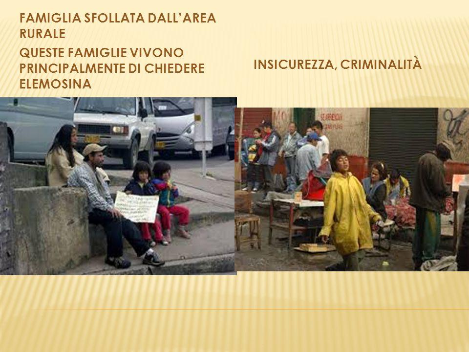 FAMIGLIA SFOLLATA DALL'AREA RURALE QUESTE FAMIGLIE VIVONO PRINCIPALMENTE DI CHIEDERE ELEMOSINA INSICUREZZA, CRIMINALITÀ