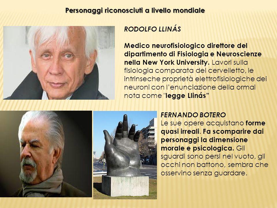 Personaggi riconosciuti a livello mondiale - RODOLFO LLINÁS Medico neurofisiologico direttore del dipartimento di Fisiologia e Neuroscienze nella New
