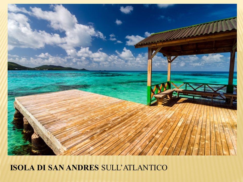 ISOLA DI SAN ANDRES SULL'ATLANTICO