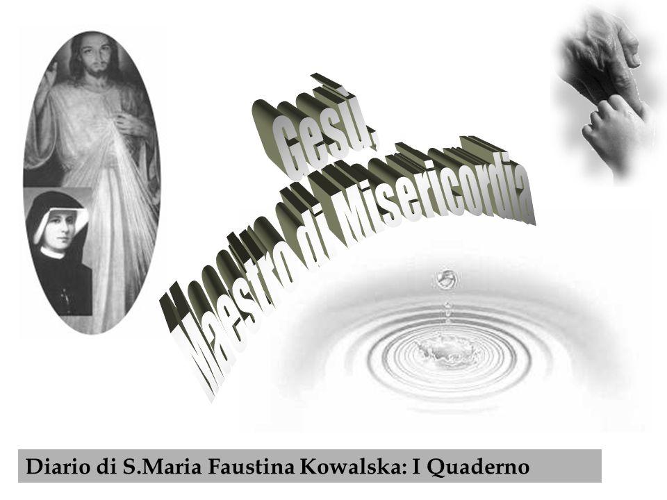 L origine dell immagine del Cristo Misericordioso è legata ad una visione che S.Maria Faustina Kowalska ebbe il 22 febbraio 1931 nel convento di Plock.