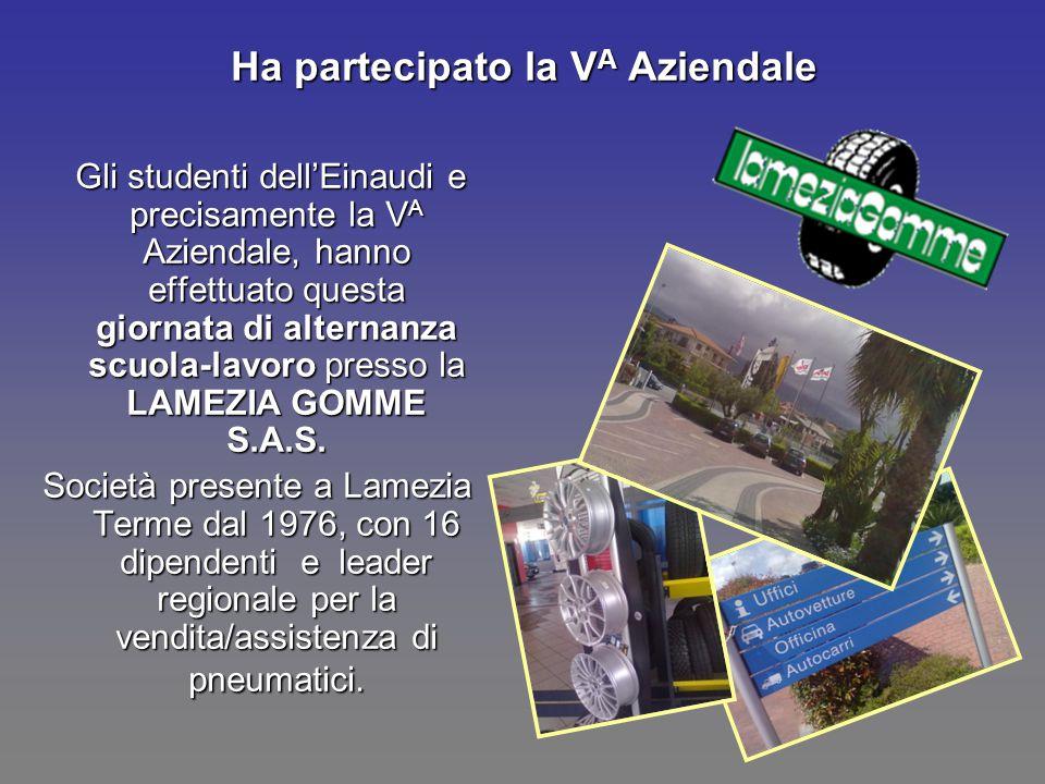 Ha partecipato la VA Aziendale Gli studenti dell'Einaudi e precisamente la V A Aziendale, hanno effettuato questa giornata di alternanza scuola-lavoro