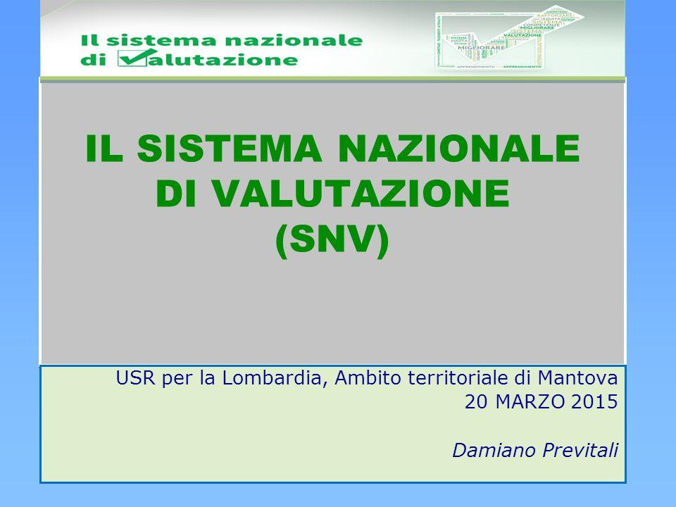 USR per la Lombardia, Ambito territoriale di Mantova 20 MARZO 2015 Damiano Previtali