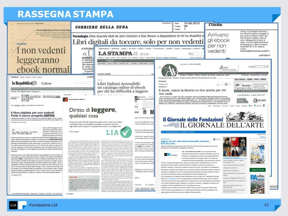 12 Fondazione LIA RASSEGNA STAMPA