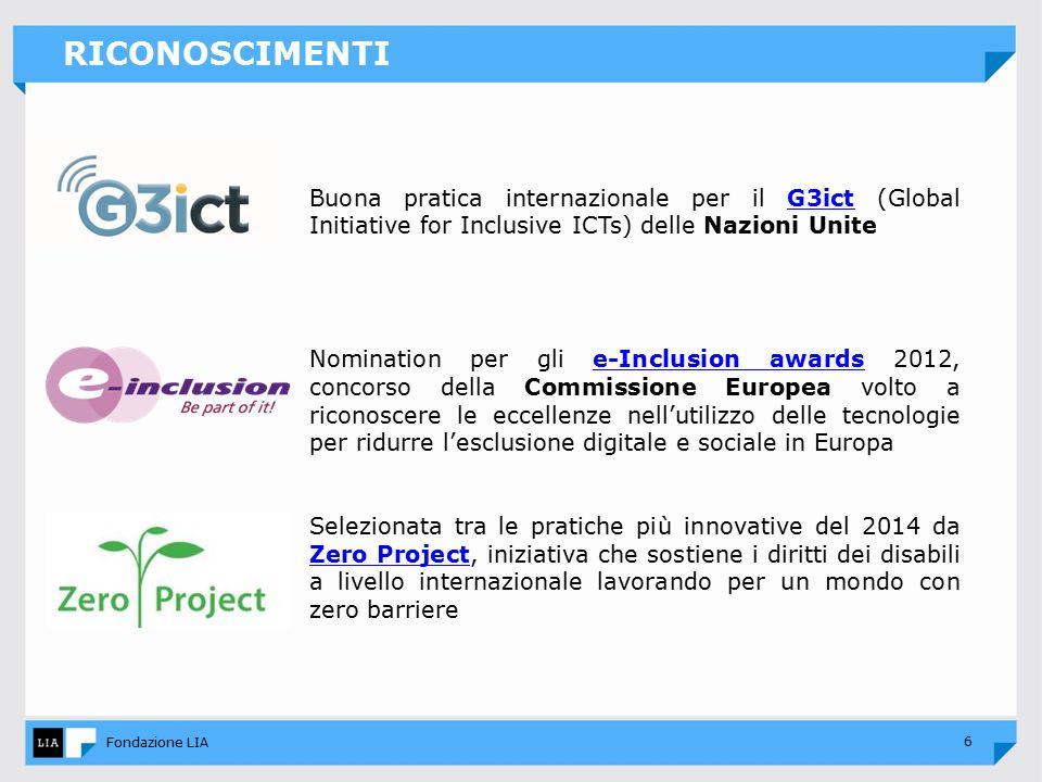 7 Fondazione LIA DISABILITA' VISIVA: UN'INDAGINE CONOSCITIVA I dati riportati sono tratti dalla più ampia indagine conoscitiva esistente in Italia sul rapporto tra persone non vedenti e ipovedenti, lettura e uso delle tecnologie.