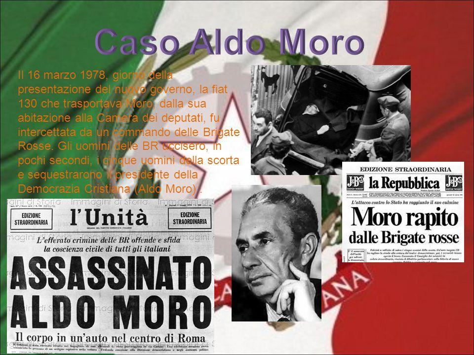 Il 16 marzo 1978, giorno della presentazione del nuovo governo, la fiat 130 che trasportava Moro, dalla sua abitazione alla Camera dei deputati, fu in