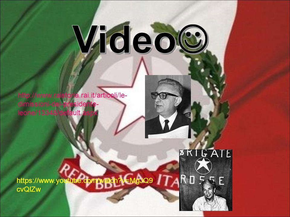 http://www.raistoria.rai.it/articoli/le- dimissioni-del-presidente- leone/13348/default.aspx https://www.youtube.com/watch?v=MgJQ9 cvQlZw