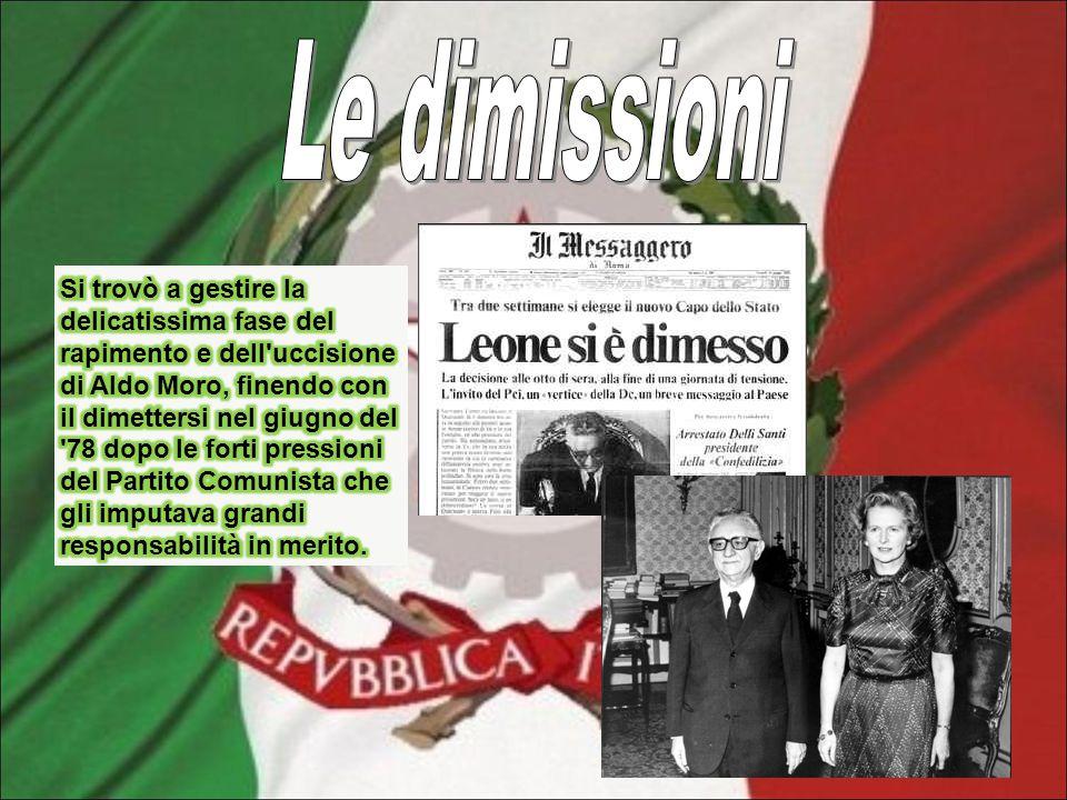 Il 16 marzo 1978, giorno della presentazione del nuovo governo, la fiat 130 che trasportava Moro, dalla sua abitazione alla Camera dei deputati, fu intercettata da un commando delle Brigate Rosse.