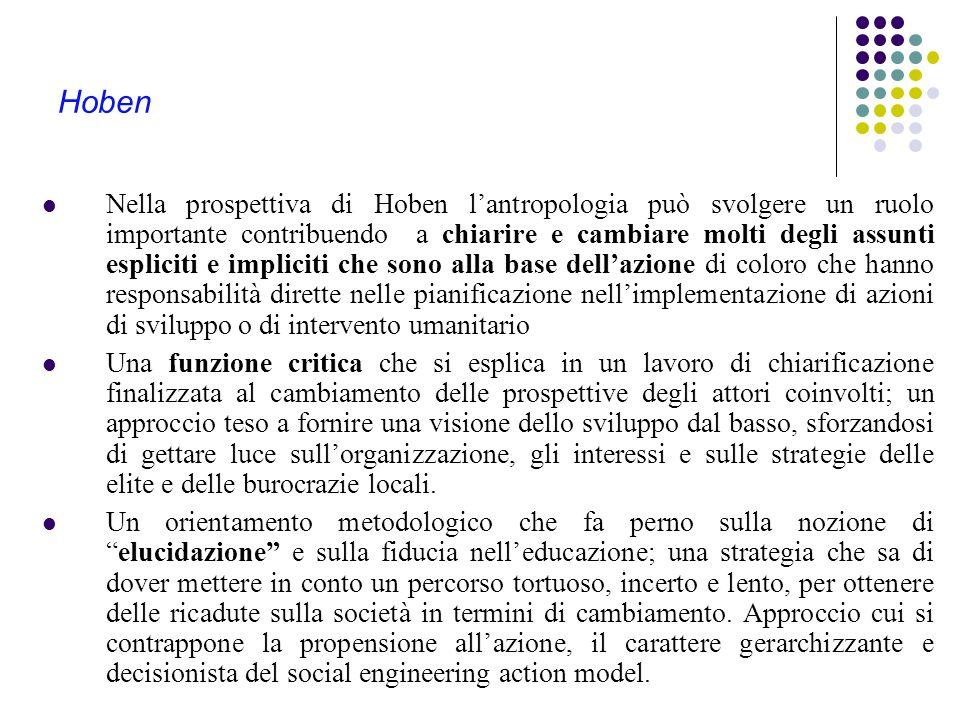 Cernea Cernea si caratterizza per una posizione che lui stesso definisce social engineering action model postulando una sorta di trasposizione delle c
