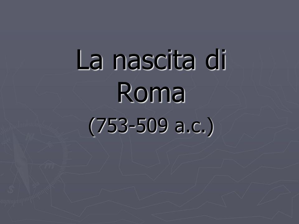 Il Lazio dell' VIII sec.a.c.