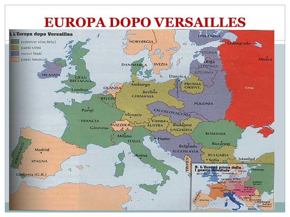 EUROPA DOPO VERSAILLES