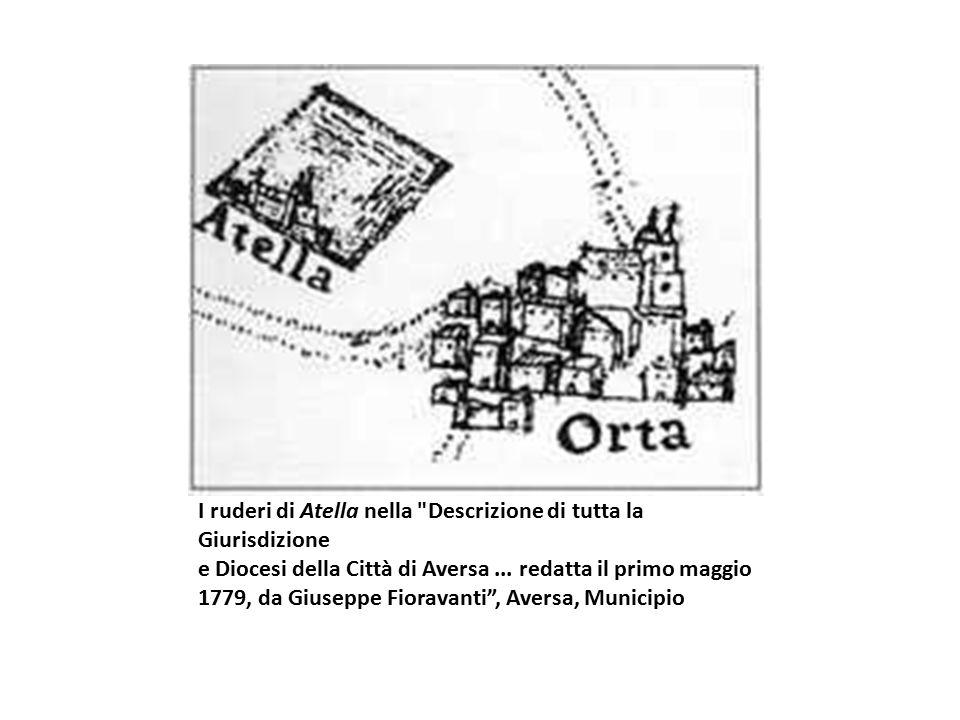 I ruderi di Atella nella Descrizione di tutta la Giurisdizione e Diocesi della Città di Aversa...