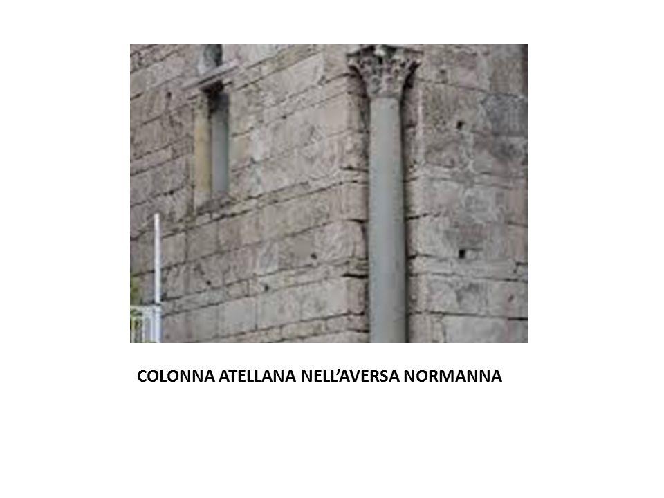 COLONNA ATELLANA NELL'AVERSA NORMANNA