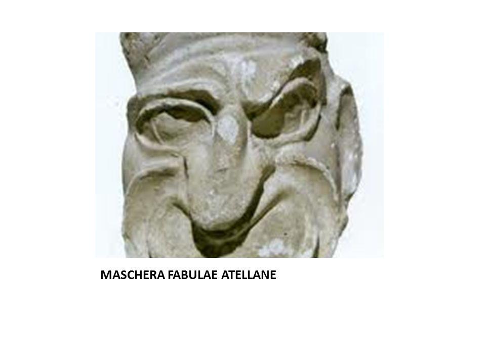 MASCHERA FABULAE ATELLANE
