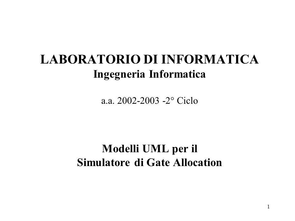 1 LABORATORIO DI INFORMATICA Ingegneria Informatica a.a.
