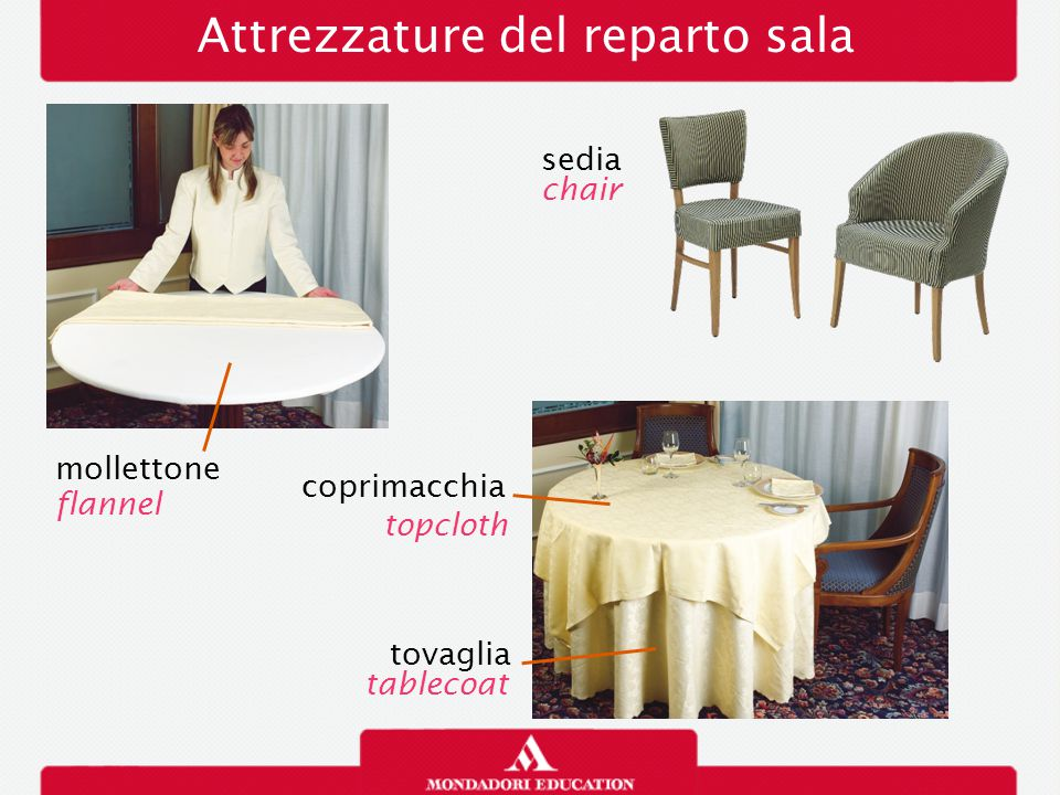 Attrezzature del reparto sala mollettone flannel tovaglia sedia chair tablecoat coprimacchia topcloth