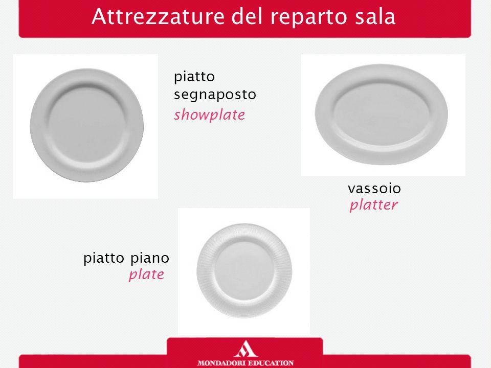 Attrezzature del reparto sala piatto segnaposto showplate vassoio piatto piano plate platter