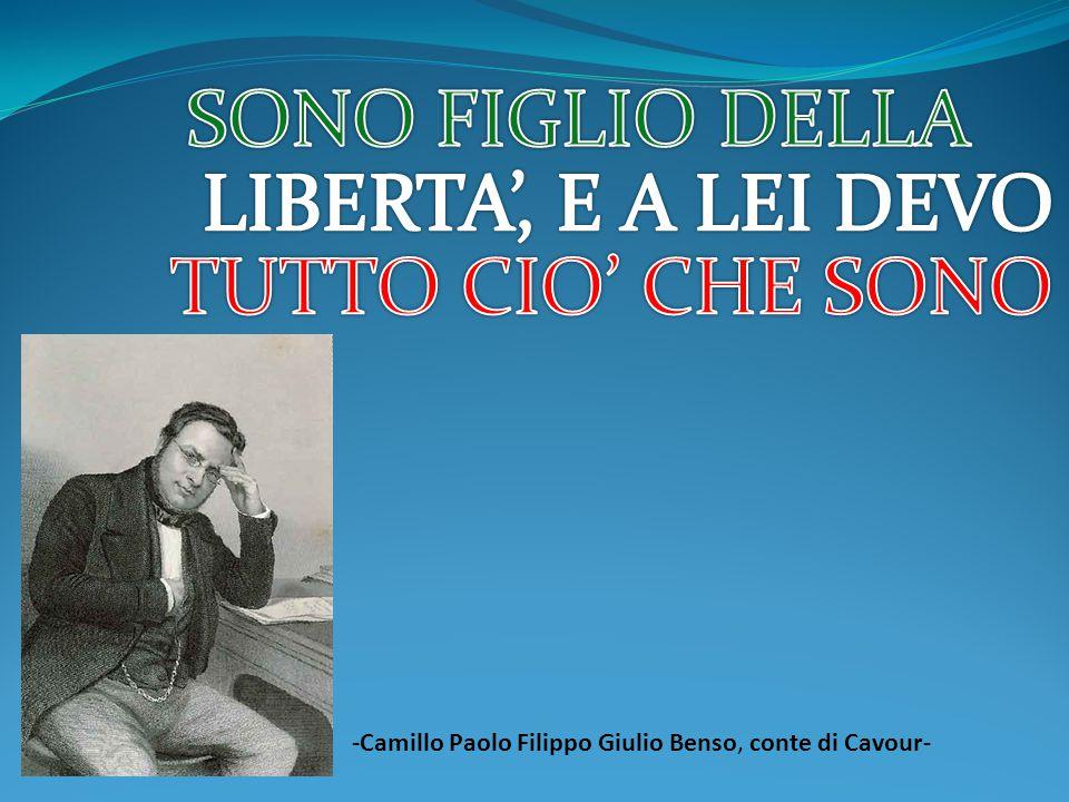 -Camillo Paolo Filippo Giulio Benso, conte di Cavour-
