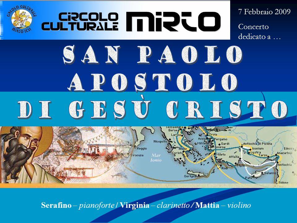 (Don Marco Frisina) Immagini: Mostra su San Paolo www.reginamundi.info