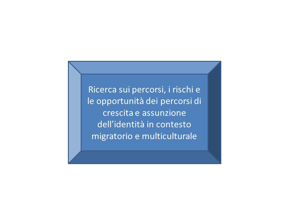 Ricerca sui percorsi, i rischi e le opportunità dei percorsi di crescita e assunzione dell'identità in contesto migratorio e multiculturale