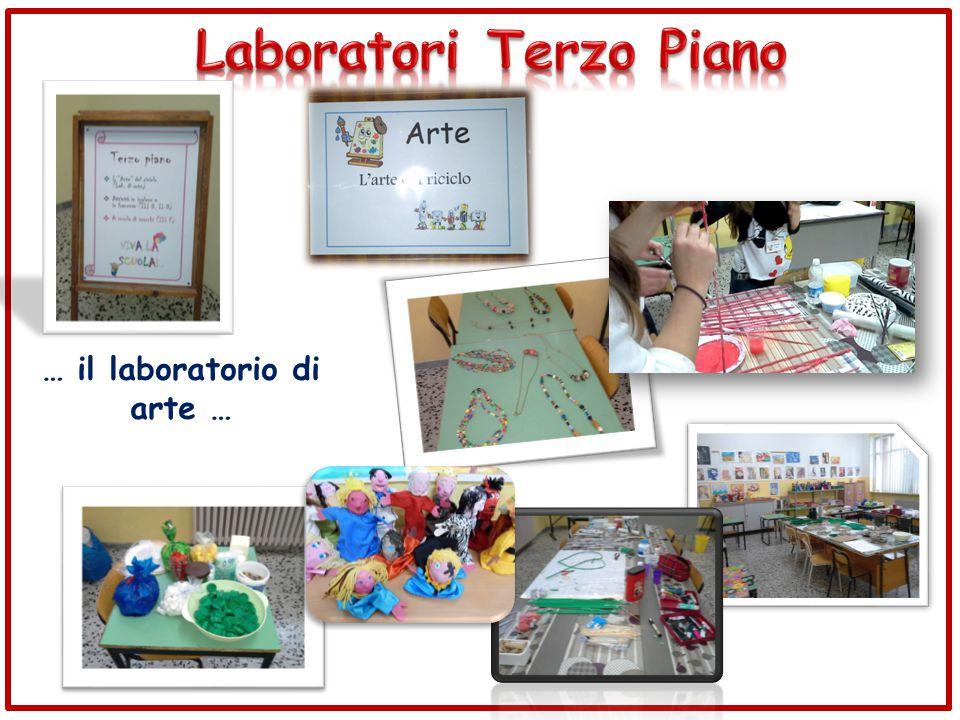 … il laboratorio di arte …