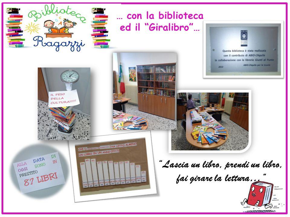 Lascia un libro, prendi un libro, fai girare la lettura… … con la biblioteca ed il Giralibro …