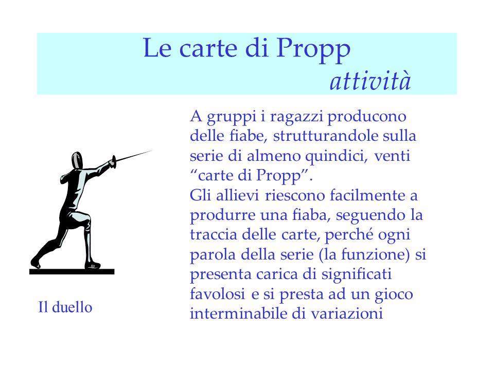 Risultati immagini per le carte di Propp