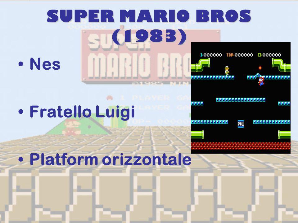 SUPER MARIO BROS (1983) Nes Fratello Luigi Platform orizzontale