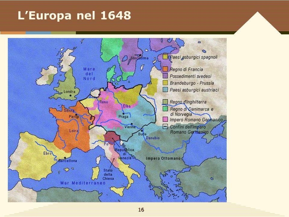 L'Europa nel 1648 16