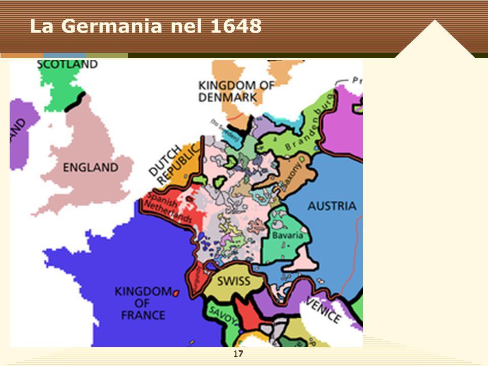 La Germania nel 1648 17