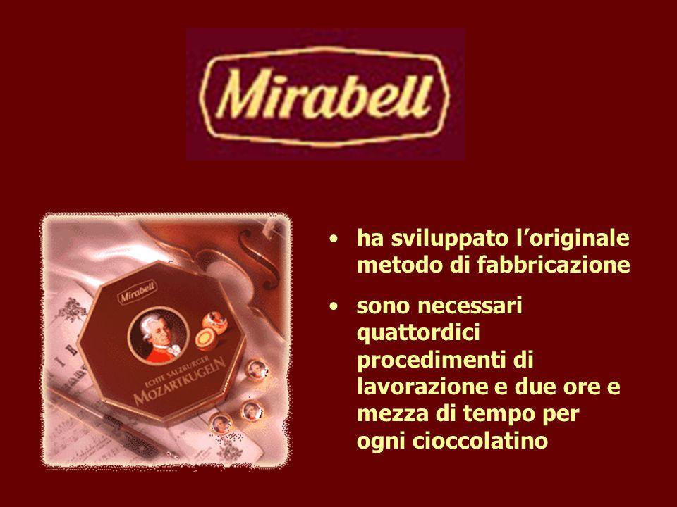 Salamanca 2001 ha sviluppato l'originale metodo di fabbricazione sono necessari quattordici procedimenti di lavorazione e due ore e mezza di tempo per ogni cioccolatino