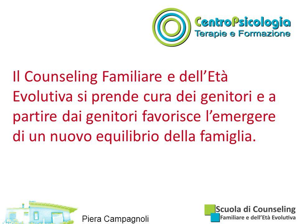 Il Counseling Familiare e dell'Età Evolutiva si prende cura dei genitori e a partire dai genitori favorisce l'emergere di un nuovo equilibrio della famiglia.