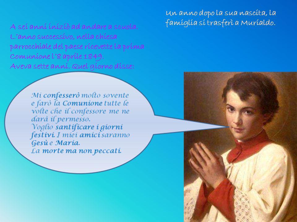 Qualche anno più tardi, nel febbraio del 1853, i Savio si trasferirono nuovamente, questa volta a Mondonio.