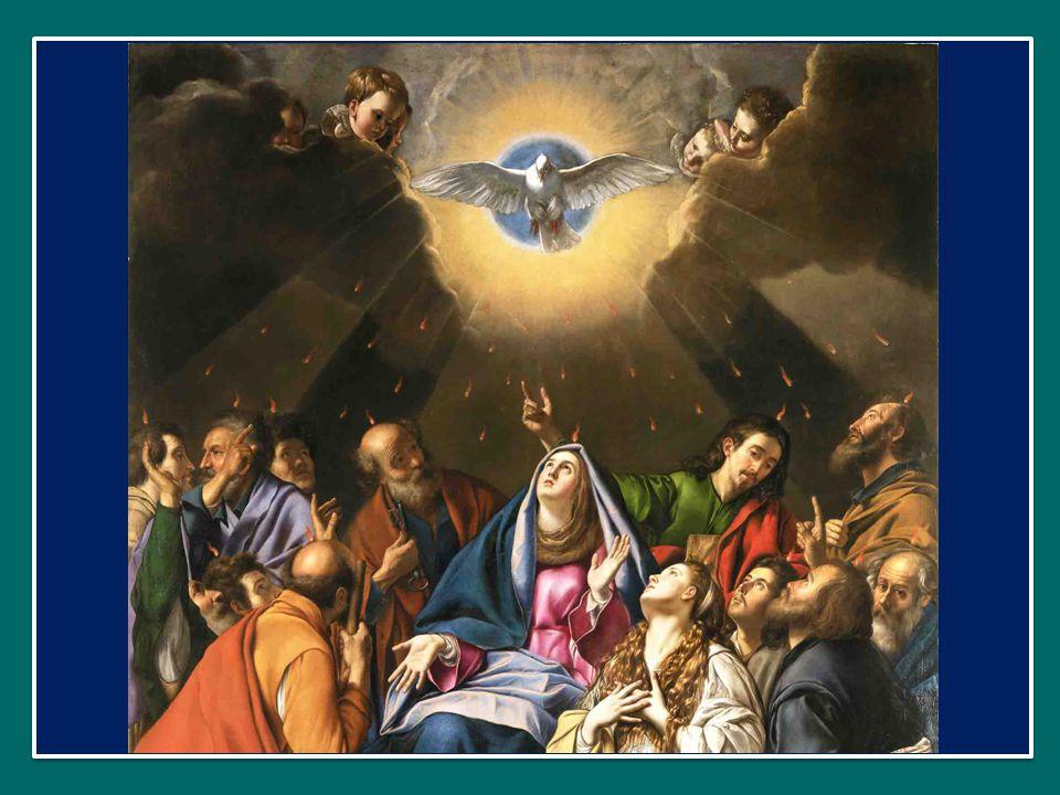 Qui díceris Paráclitus, donum Dei altíssimi, O dolce consolatore, dono del Padre altissimo, fons vivus, ignis, cáritas, et spiritális únctio.