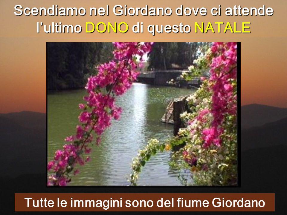 Scendiamo nel Giordano dove ci attende l'ultimo DONO di questo NATALE Tutte le immagini sono del fiume Giordano