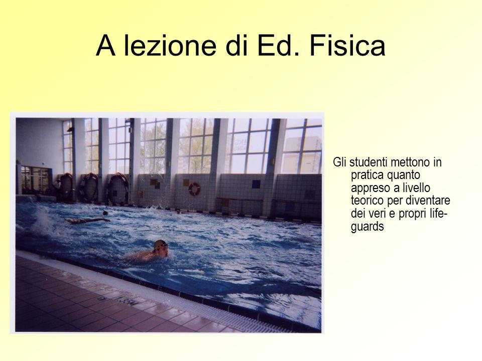 A lezione di Ed.